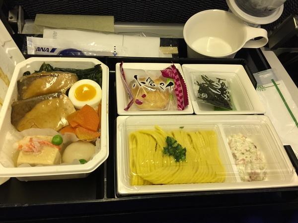 回来时候的飞机餐