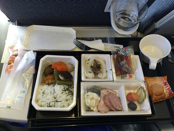去的时候的飞机餐
