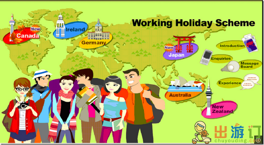 Working Holiday(打工旅行)延签所需材料以及流程分享