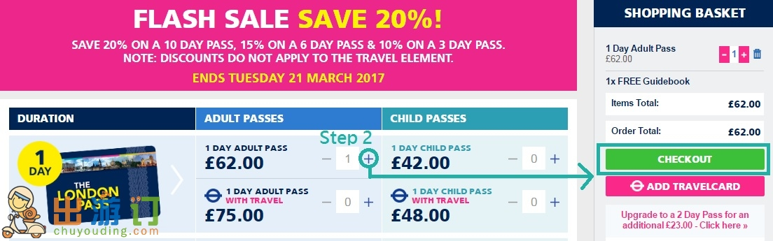 London Pass優惠折扣代碼2017  London Pass購買攻略